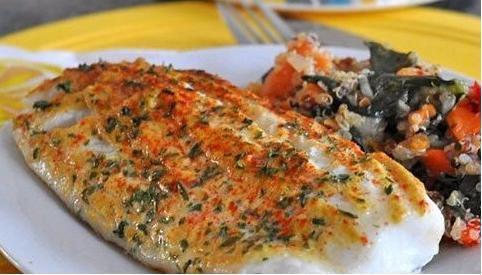 """Результат пошуку зображень за запитом """"Филе рыбы, запеченное под горчицей"""""""